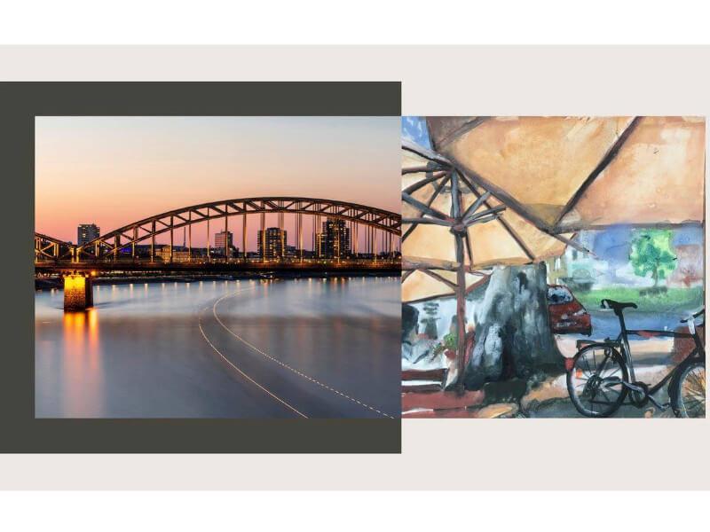 BEST OF CITYART COLOGNE | Renate Geiter in der Galerie Daneben