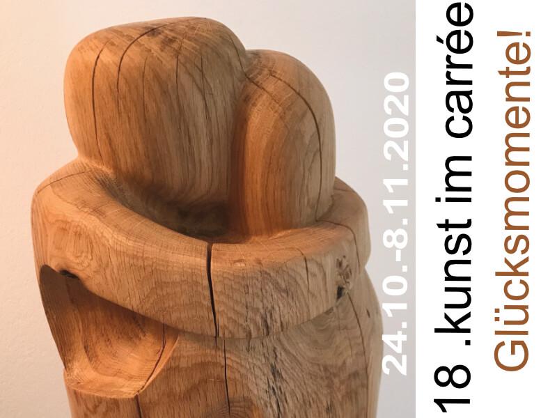 GLÜCKSMOMENTE!  | kunst im carrée in Köln Sülz/Klettenberg vom 24.10.-7.11.2020