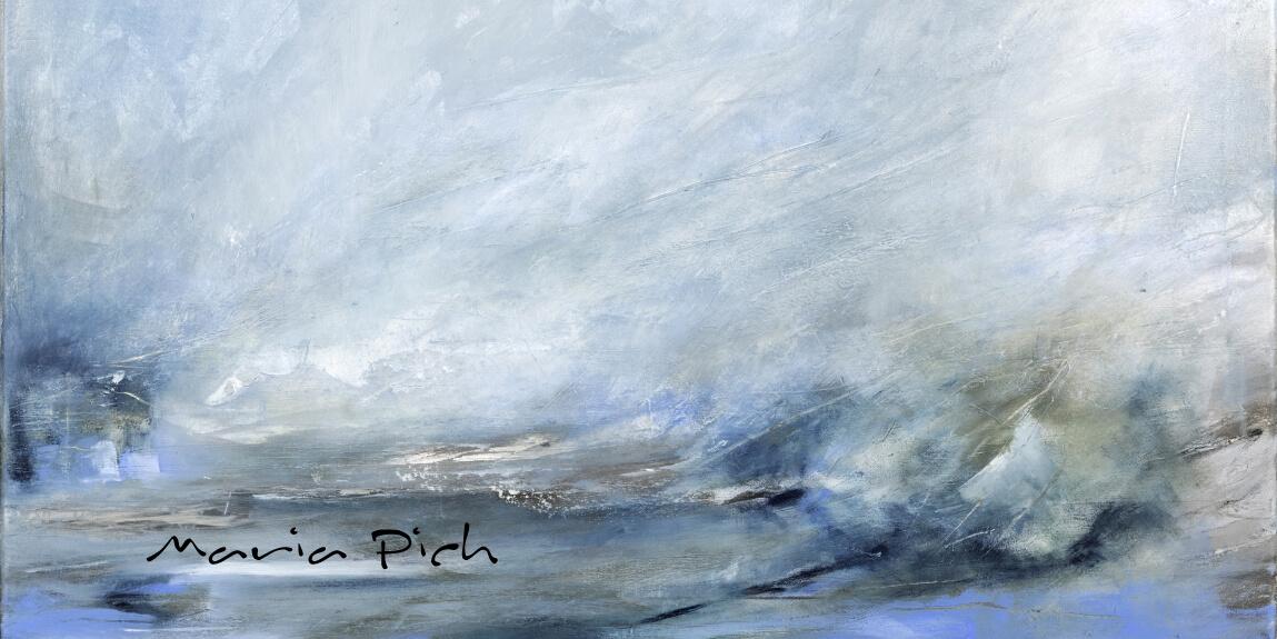 Impressionen, Abstraktionen & Collagen | Ausstellung von Maria Pich in Sülz
