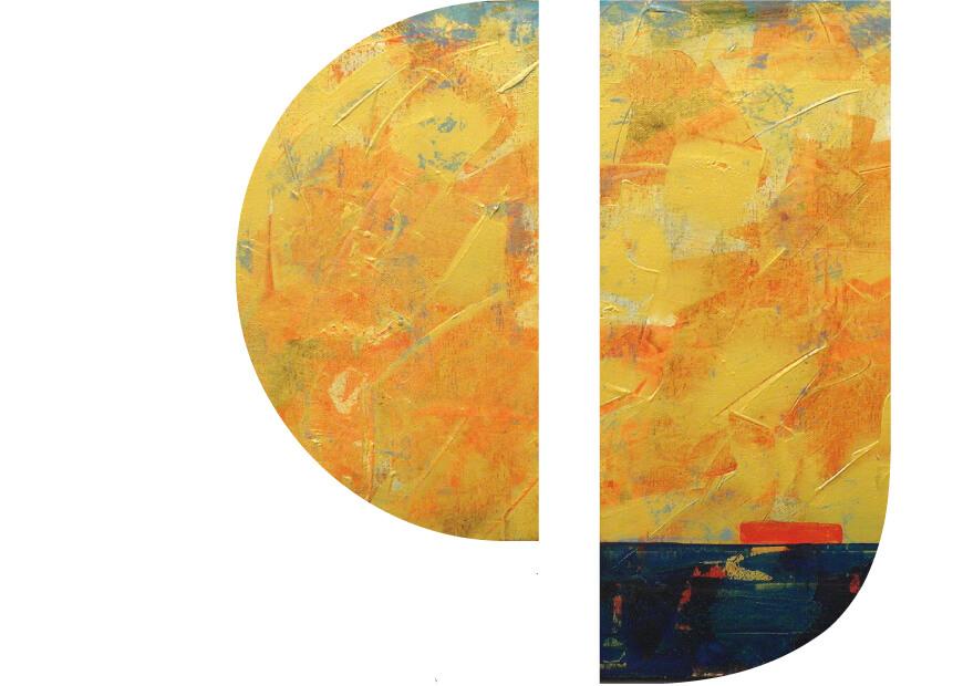 Goldene Aussichten | Ausstellung von Ulla Philipp & Beate Steven