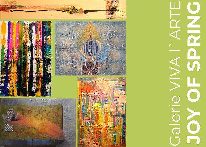JOY OF SPRING | Galerie VIVA l`ARTE