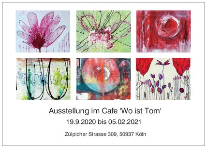 Neu bei Grevy: Maren Lorenz | Aktuelle Ausstellung im Café 'Wo ist Tom'