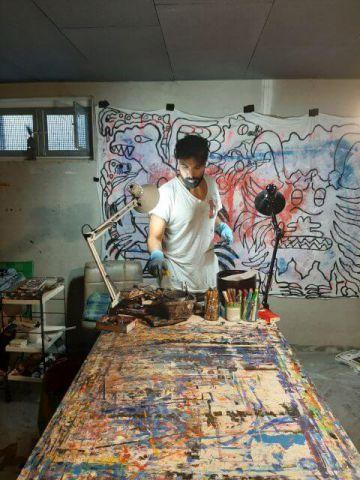 Kaweh Agah - Malerei, Zeichnungen