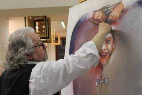 Raymund Richter - Malerei, Zeichnungen