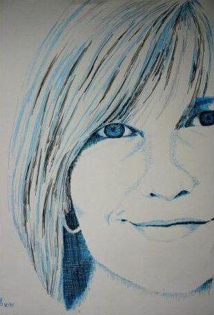 Anette Grinda - Zeichnungen