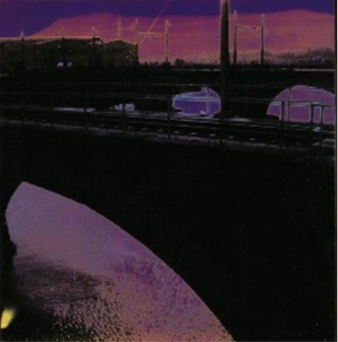Susanne Pareike - Bahnbrücke Spanien - Digitale Malerei