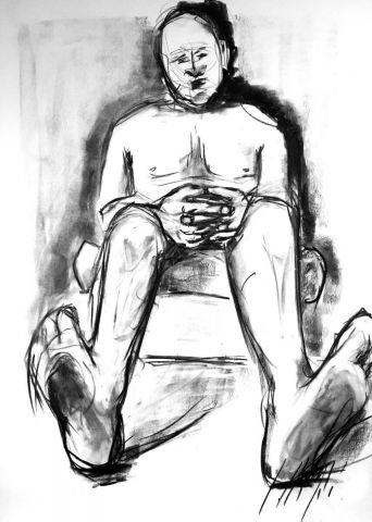 <em>kunstwerk/artwork bearbeiten</em>: man without socks 17.12.2019 - 14:05