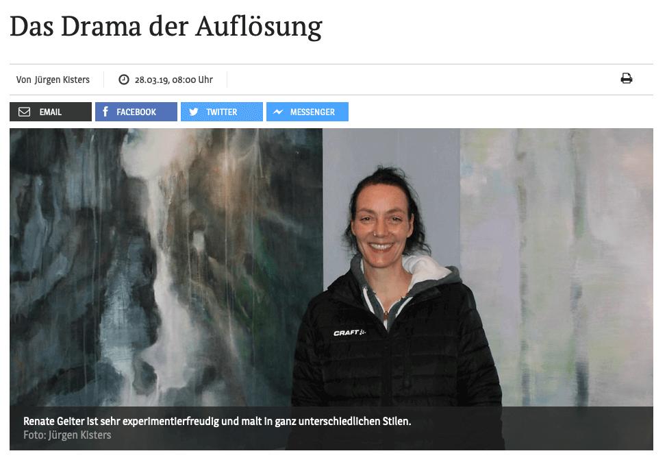 Das Drama der Auflösung | Artikel von Jürgen Kisters, Kölner Stadtanzeiger