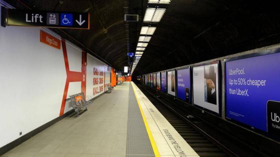 Bahnsteig 22.11.2019 - 05:53
