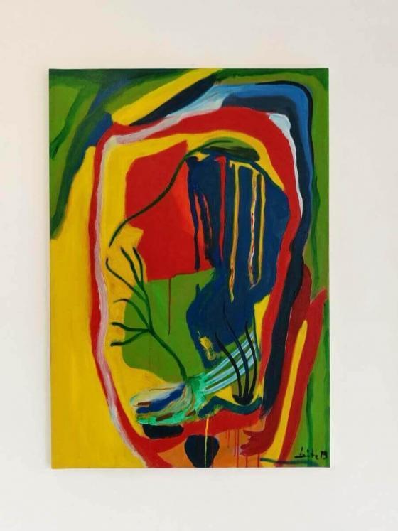 Weinender Kandinsky
