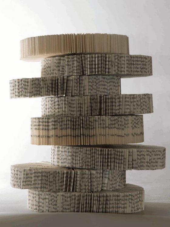 Ursula Traschütz - Objekte, Papierarbeiten- Babylon 1