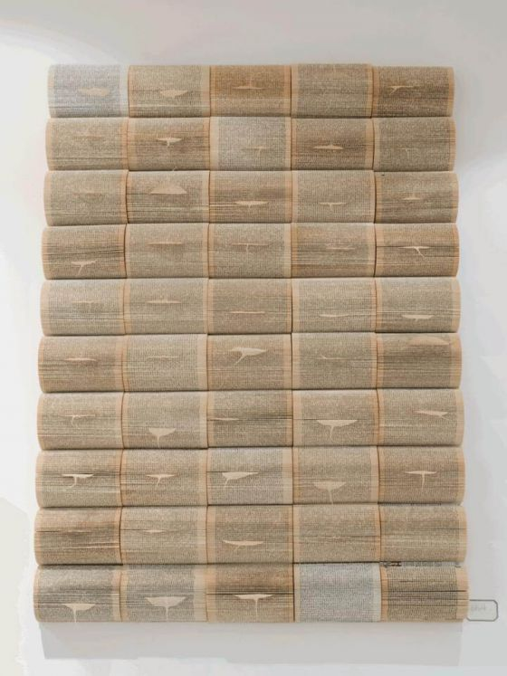 Ursula Traschütz - Objekte, Papierarbeiten- Blattwerk