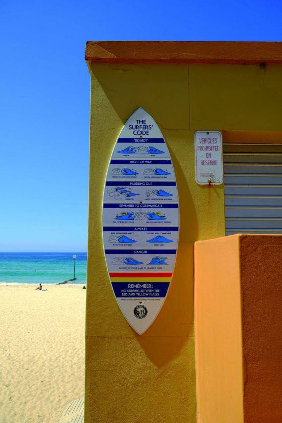 <em>kunstwerk/artwork bearbeiten</em>: Bondi Surf Life Saving Club, Sydney 17.01.2020 - 09:46