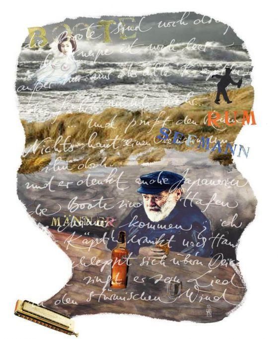 <em>kunstwerk/artwork bearbeiten</em>: Nichts haut einen Seemann um 06.06.2020 - 10:18