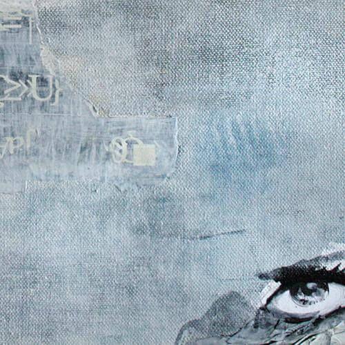 Michaele Helker - Collagen, Malerei- BLICKfeld 1.03