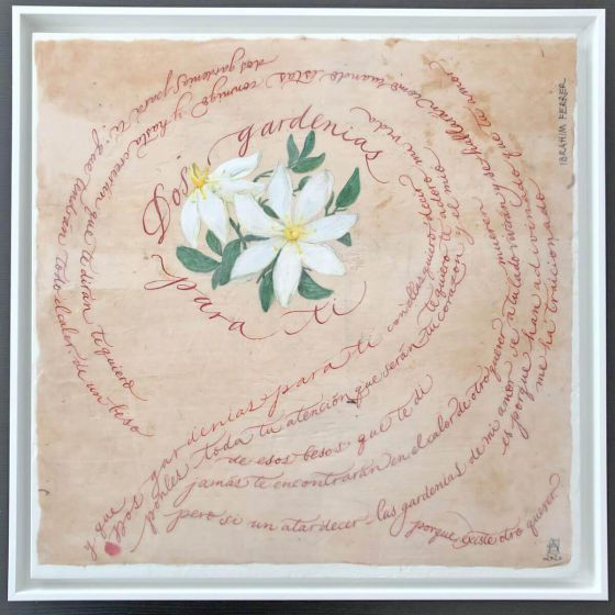 <em>kunstwerk/artwork bearbeiten</em>: Dos Gardenias 06.06.2020 - 10:09