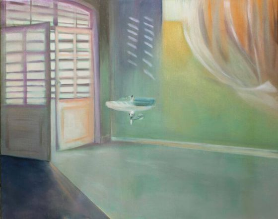Eva Löffelholz - Durchlässig - Malerei