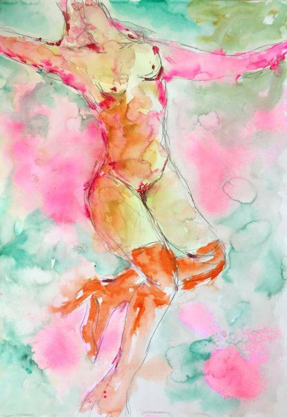 <em>kunstwerk/artwork bearbeiten</em>: Guten Flug, Edition 19.04.2020 - 11:02