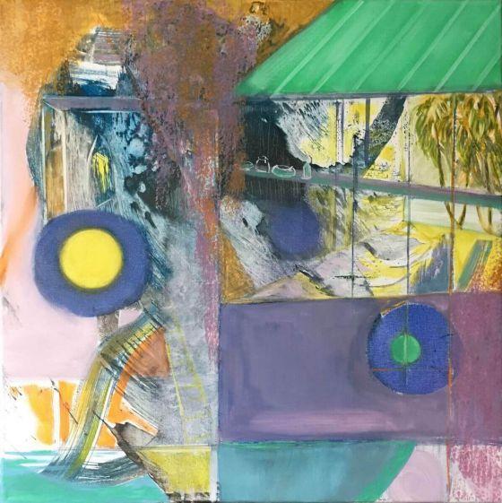 Eva Löffelholz - Wintergarten - Malerei