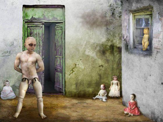 <em>kunstwerk/artwork bearbeiten</em>: Die Puppen I 09.04.2020 - 21:14