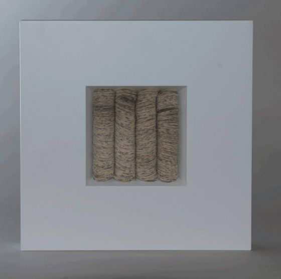 Ursula Traschütz - Objekte, Papierarbeiten- Scheibchenweise 4