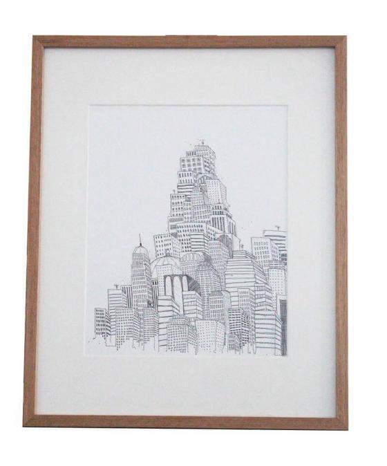 Anika Merten - Illustration, Zeichnungen- Stadt