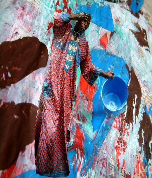 Britta Stachel - Collagen, Photographie- Wasser