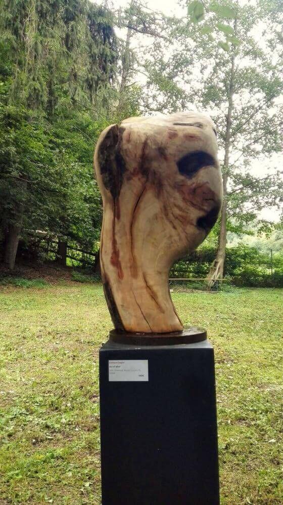 Skulptur Shining Head 26.02.2021 - 18:13