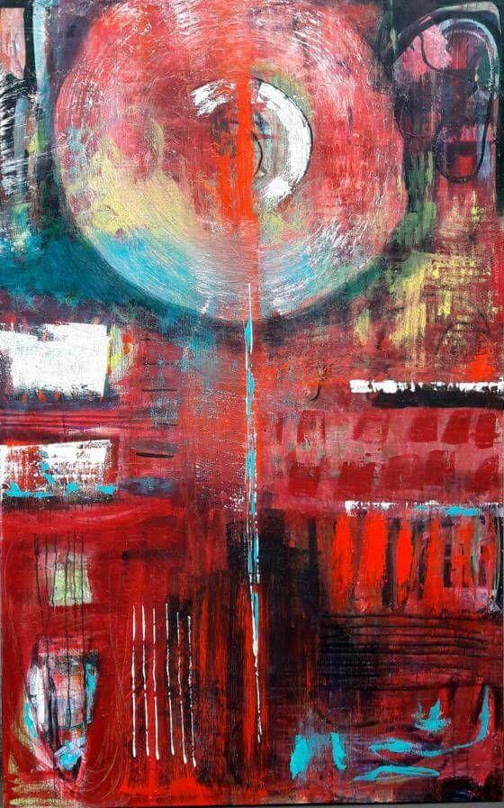 Maren Lorenz  - ohne Titel - Malerei
