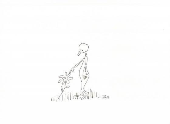 Ohne Worte - Blume