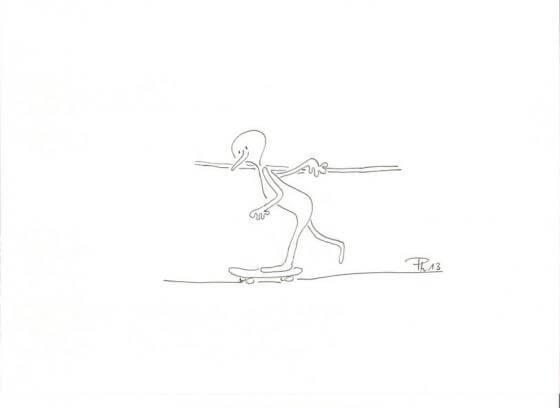 Ohne Worte - Skater