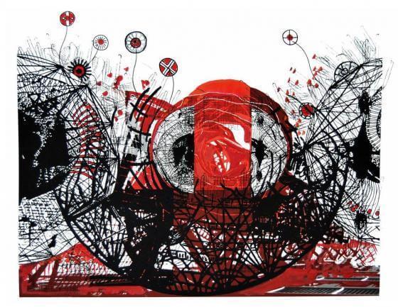 Letitia Gaba - Graphik- Ohne Titel 05