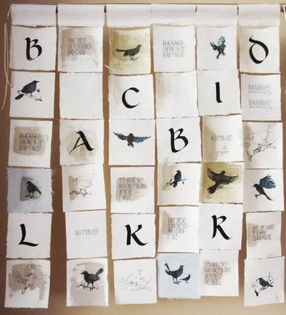 <em>kunstwerk/artwork bearbeiten</em>: Collage Blackbird 08.06.2020 - 09:12