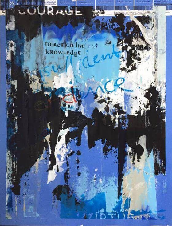 <em>kunstwerk/artwork bearbeiten</em>: »Courage« 11.05.2020 - 12:40
