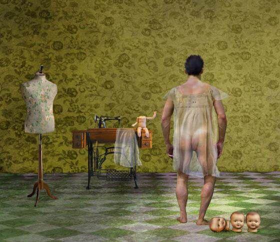 <em>kunstwerk/artwork bearbeiten</em>: Die Puppen VI 16.04.2020 - 09:49