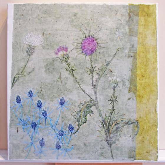<em>kunstwerk/artwork bearbeiten</em>: Disteln 06.06.2020 - 10:23