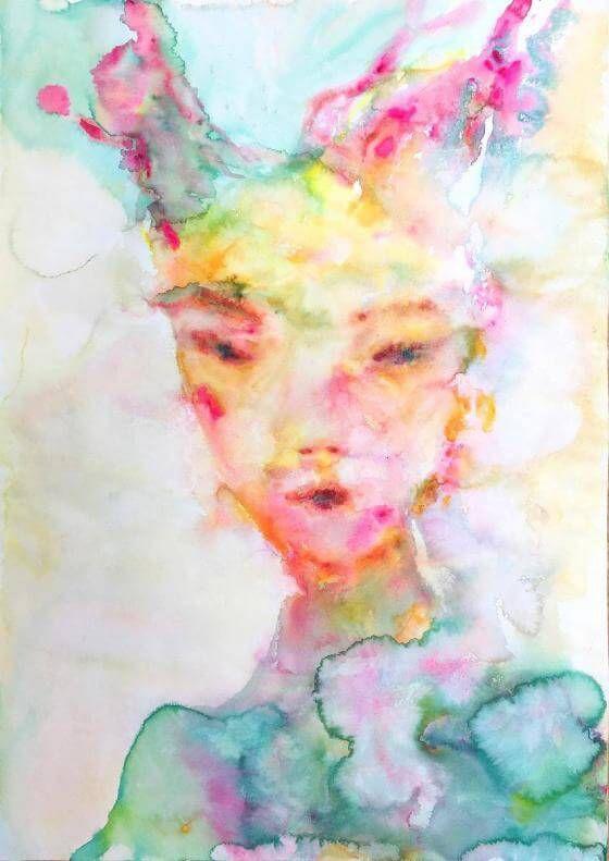 <em>kunstwerk/artwork bearbeiten</em>: Green Viktoria, Edition 19.04.2020 - 11:03