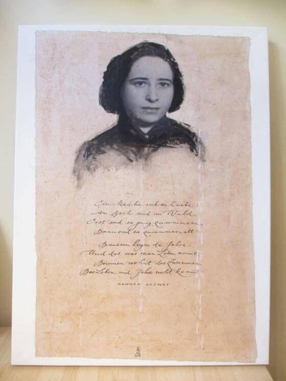 <em>kunstwerk/artwork bearbeiten</em>: Collage Hannah Arendt 06.06.2020 - 10:12