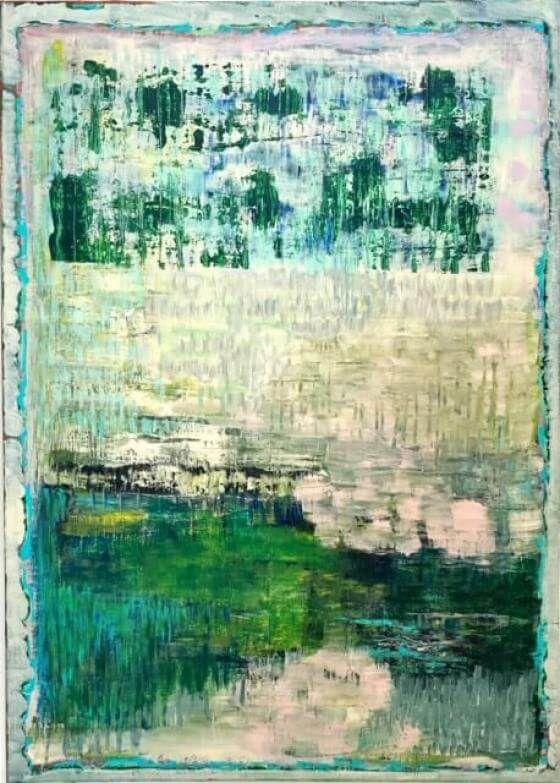 Ursula Krenzler - Jetzt nicht - Malerei