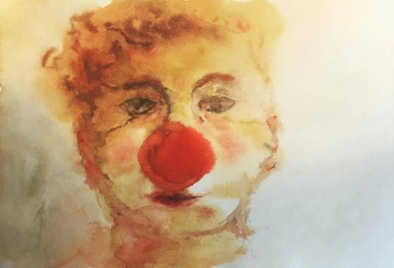 <em>Kunstwerk bearbeiten</em>: Jonny der Clown 21.05.2018 - 15:54
