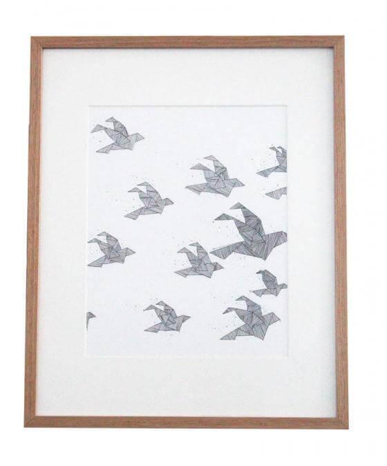 Anika Merten - Illustration, Zeichnungen- Origami