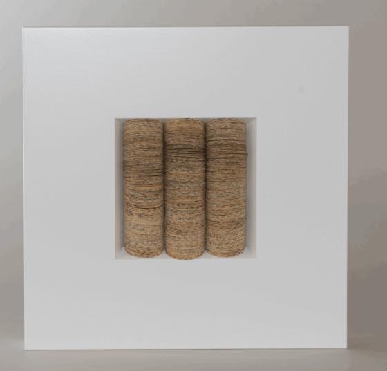 Ursula Traschütz - Objekte, Papierarbeiten- Scheibchenweise 3