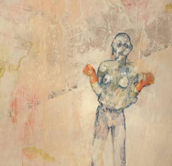Tanja Reitz - the bruises turn to yellow - Malerei