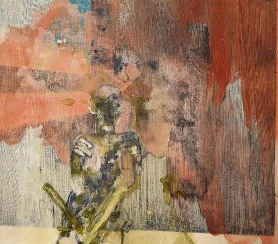 Tanja Reitz - Sonnenuntergang - Malerei