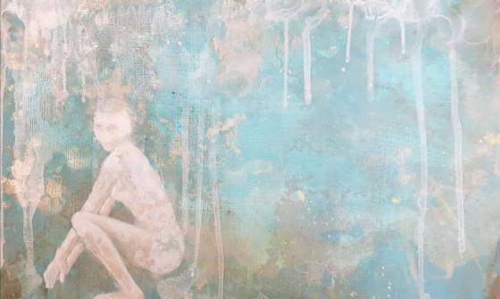 Tanja Reitz - Summerrain - Malerei
