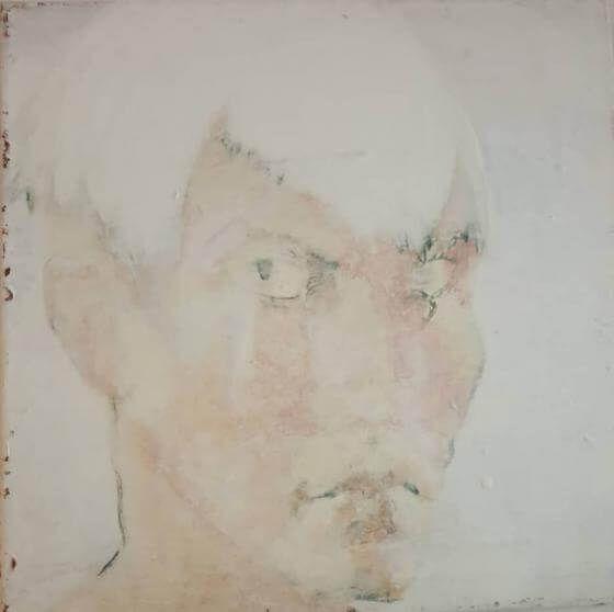 Tanja Reitz - Ich faerbte den Himmel purpur mit meinem Herzblut - Malerei