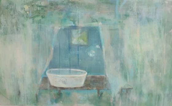 Tanja Reitz - liquid peace - Malerei