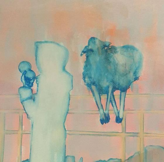 Tanja Reitz - Holy Bums - Malerei