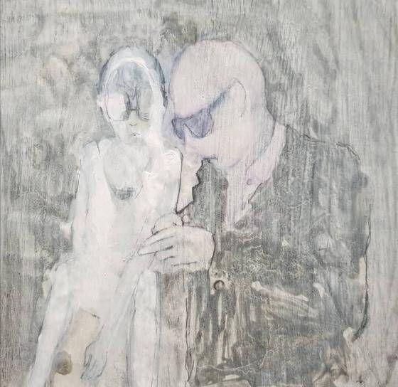 Tanja Reitz - ohne Titel - Malerei