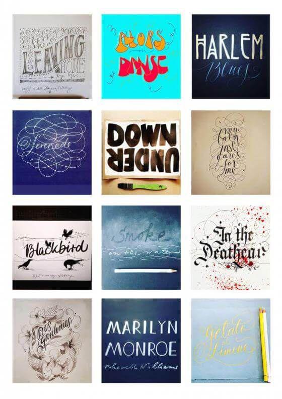 <em>kunstwerk/artwork bearbeiten</em>: Collage #100daysoflettering  06.06.2020 - 10:13